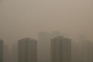 Shanghai air polluion