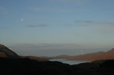 View to the Loch from Uamh an Tartair